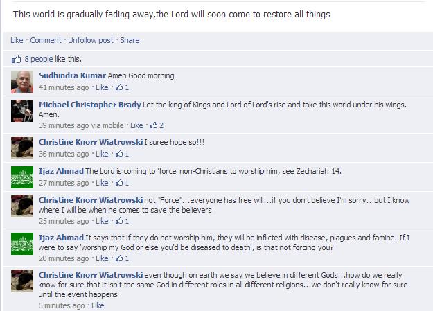 christian facebook