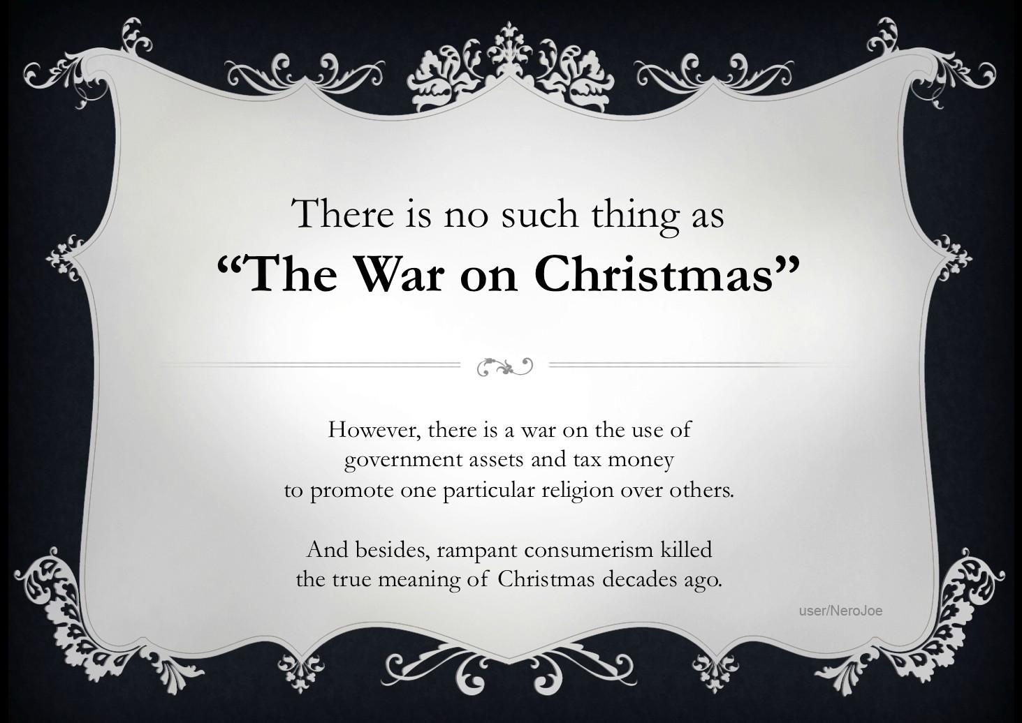 No War on Christmas | Calling Christians