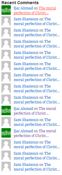 The moral perfection of Christ proves that he is God. A post by Sam Shamoun.   Badmanna's Blog