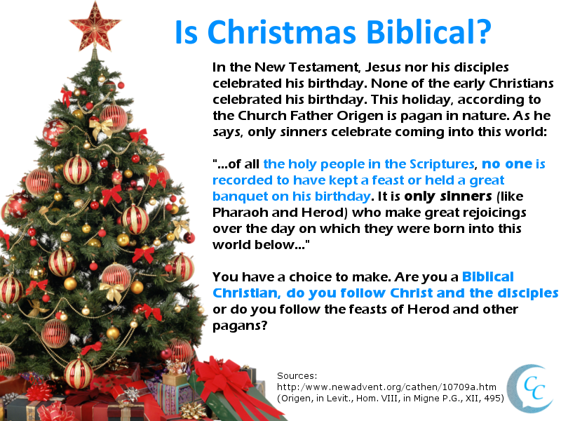 is christmas pagan | Calling Christians