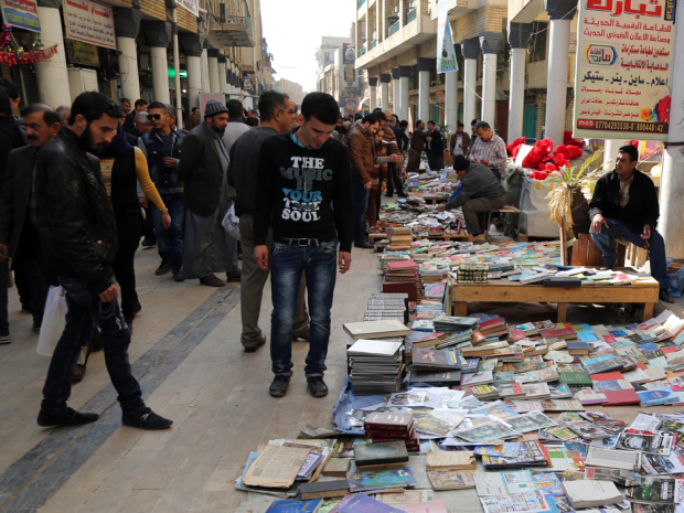 Mideast Iraq Libraries In Danger